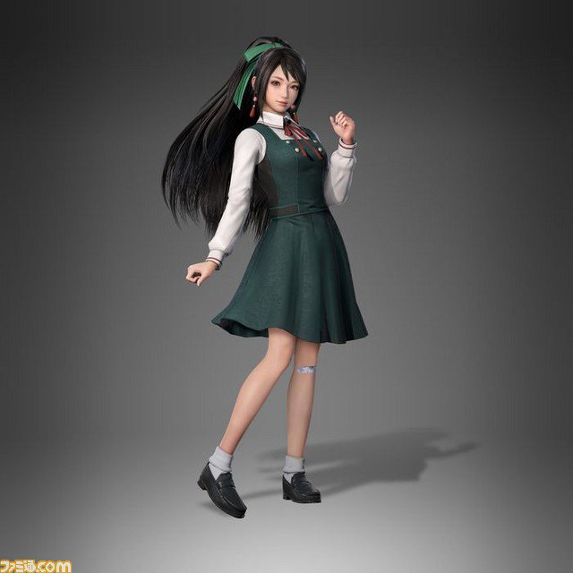 《真‧三國無雙 8》11/22 的DLC服裝,星彩、關銀屏 JK 登場