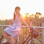 【Saki in Hong Kong School Uniform】 Vol.17B On the Bike 中華基督教會基元中學 (MD:Saki 小崎,攝影師:楊聰聰攝影速報)