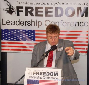 Uniformed Services League Executive Director Ronald Wilcox has spoken out for servicemen on many occasions including at the May 15, 2015 Freedom Leadership Conference in Northern Virginia.
