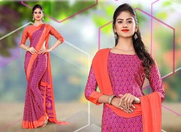 Saree-Salwar-Combo-from-Uniform-Sarees-Corp