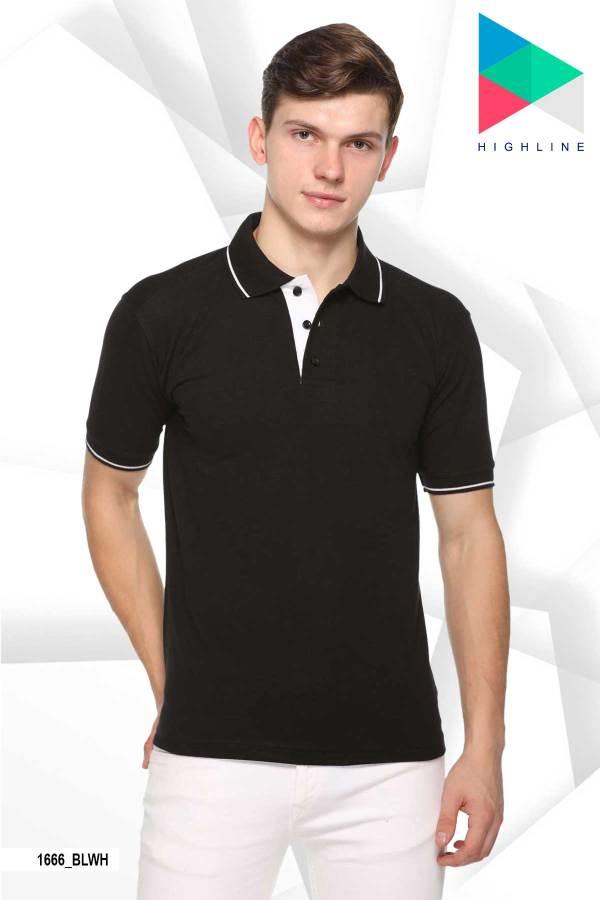 Black-White-Pure-Cotton-School-Event-Polo-T-Shirt-1666_BLWH