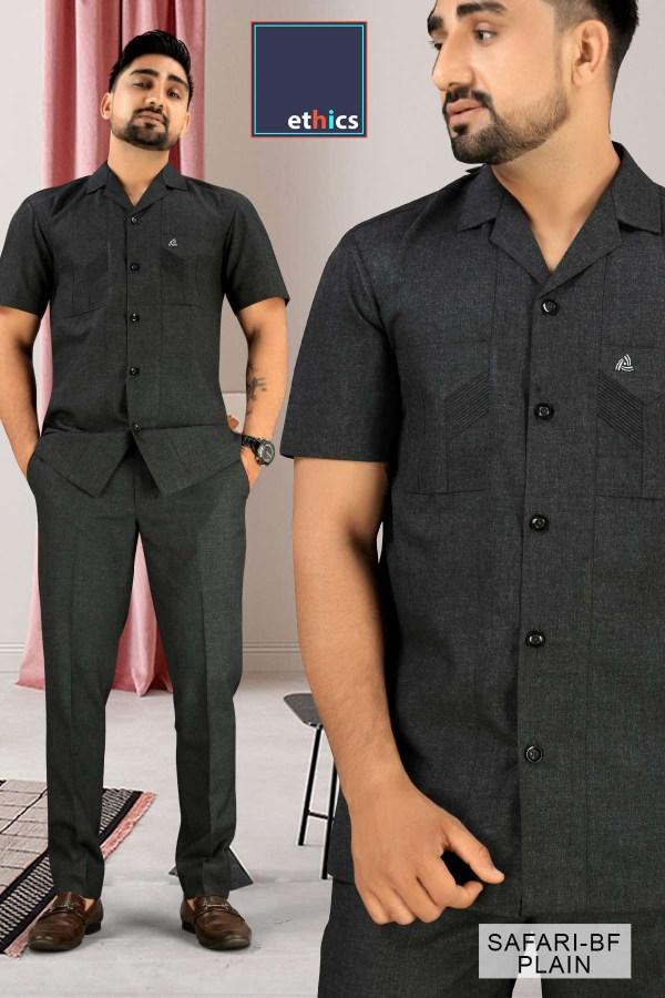 Corporate-Uniforms-Safari-Suit-Fabrics-For-Security-Staff-1045