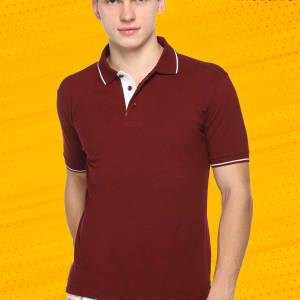Maroon-White-Pure-Cotton-Group-Event-Polo-T-Shirt-1664_MRWH