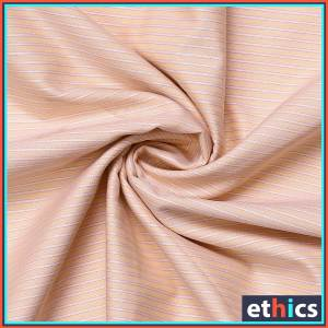 Orange-Stripe-Office-Uniform-Men's-Readymade-Shirt-Fabrics-KP-89908