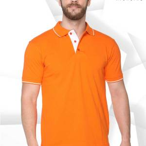 Orange-White-Pure-Cotton-IPL-Event-Polo-T-Shirt-1661_ORWH