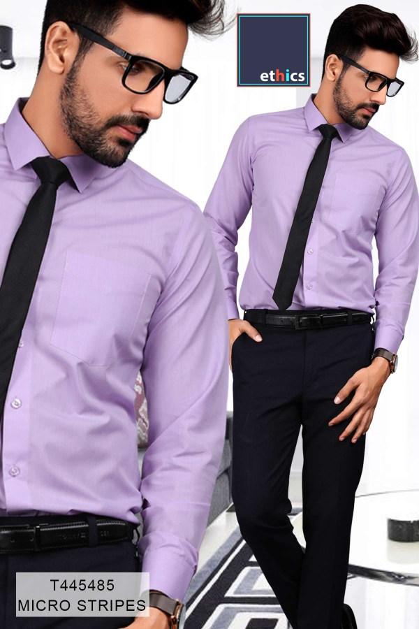 Purple-Plain-Formal-Uniform-Shirts-Trousers-Set-for-Office-Staff-T-445488