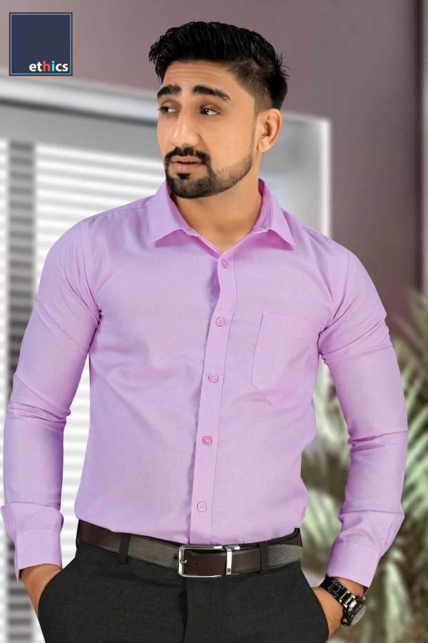 Purple-Plain-Formal-Uniform-Shirts-for-Office-Staff-T-445488-N