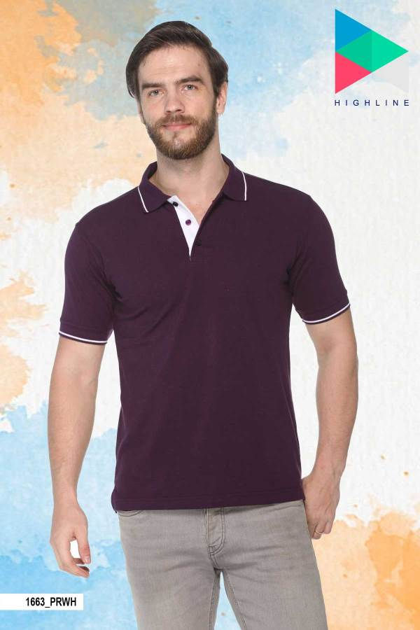 Purple-White-Pure-Cotton-Office-Event-Polo-T-Shirt-1663_PRWH