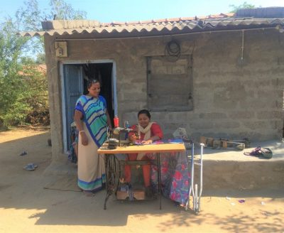 Suposhan Sangini Helping Differently abled woman