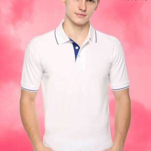 White-Blue-Pure-Cotton-Political-Event-Polo-T-Shirt-1655_WHBU