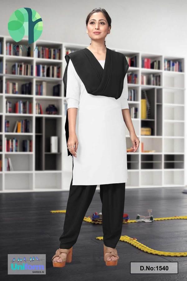 White-and-Black-Kanya-Salwar-Kameez-for-Law-Schools-and-Court-Uniforms-1540