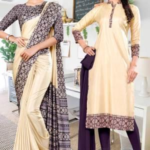 beige-gray-printed-blouse-concept-polycotton-raw-silk-saree-for-industrial-uniform-sarees-salwar-combo-1082-C