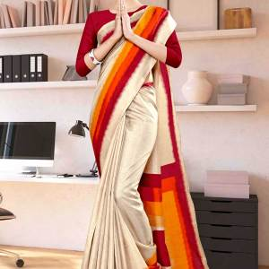 beige-maroon-gala-border-premium-polycotton-cotfeel-saree-for-employee-uniform-sarees-1078-21