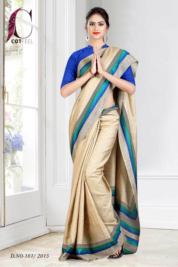 beige-with-blue-border-tripura-cotton-uniform-saree--161-15