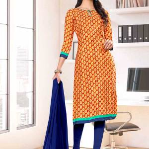 brown-blue-premium-italian-silk-crepe-salwar-kameez-for-factory-uniform-sarees-01035