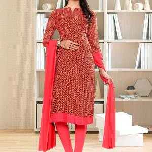 carrot-pink-small-print-premium-italian-silk-crepe-salwar-kameez-for-empoyees-uniform-sarees-01027