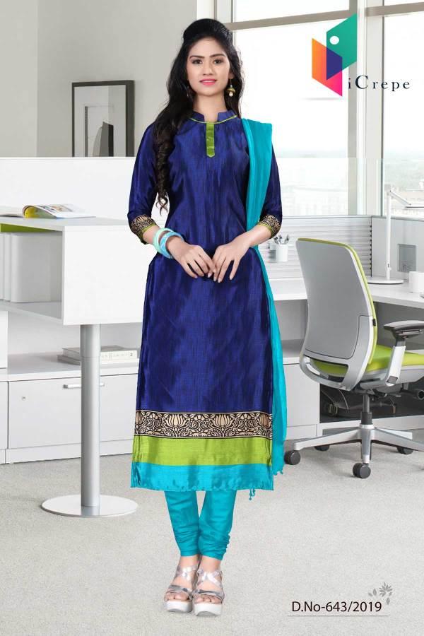 dark-blue-green-italian-crepe-silk-hospital-uniform-salwar-kameez643