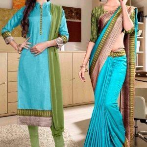green-and-blue-fancy-school-uniform-saree-salwar-combo-860-930