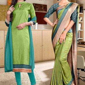 green-and-blue-school-uniform-saree-salwar-combo-859-928