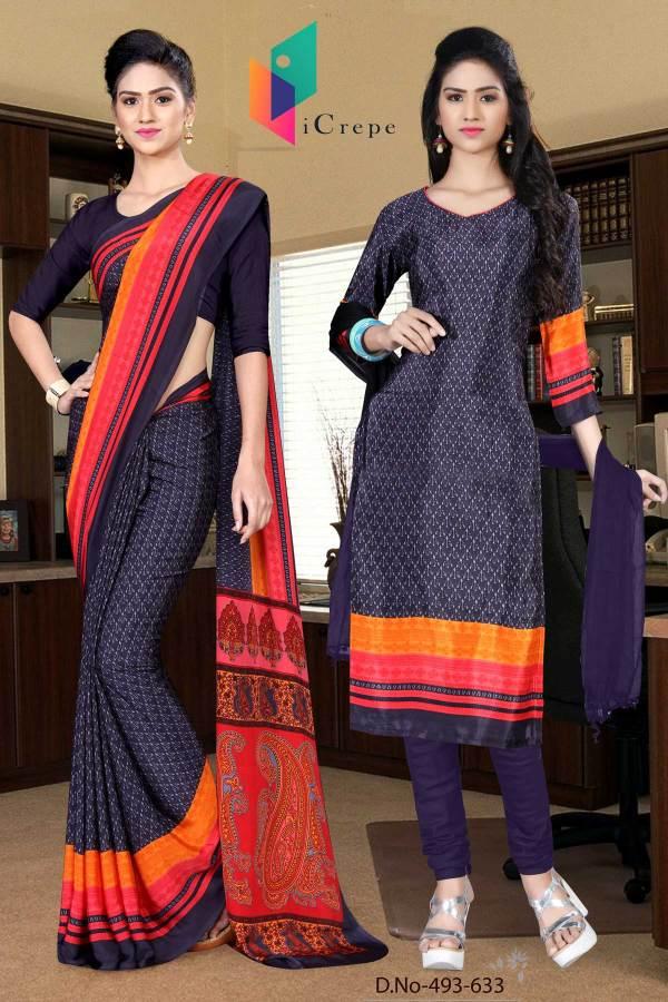grey-and-black-italian-crepe-silk-school-uniform-saree-salwar-combo-493-633