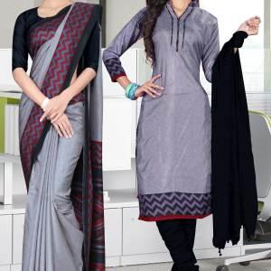 grey-and-black-tripura-cotton-corporate-uniform-sarees-combo-454-682