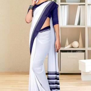 navy-blue-white-premium-georgette-mother-teresa-hospital-uniform-sarees-for-office-staff-1622