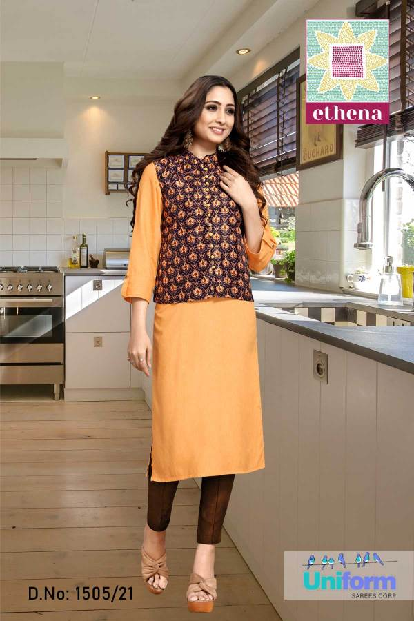 orange-and-coffee-newage-office-uniforms-for-urban-women-1508
