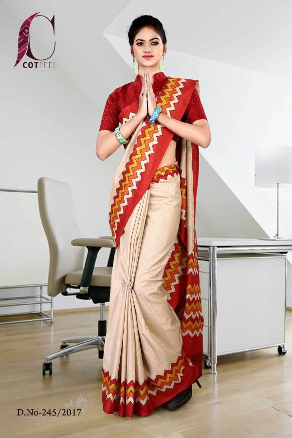 orange-beige-tripura-cotton-uniform-saree-245-17