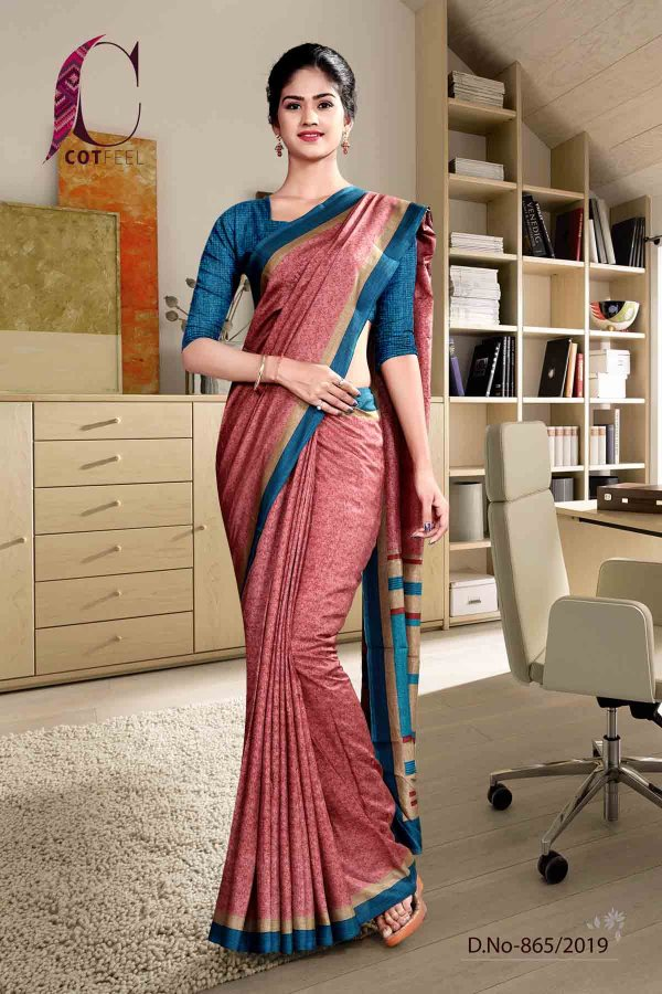 pink-and-blue-fancy-corporate-uniform-saree-865-19