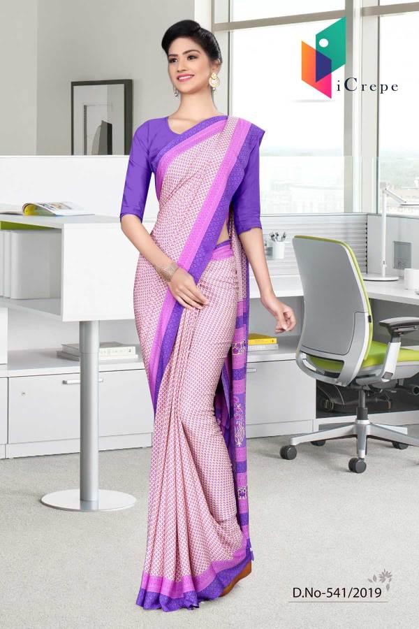 pink-and-purple-italian-crepe-silk-simple-uniform-saree-541-19