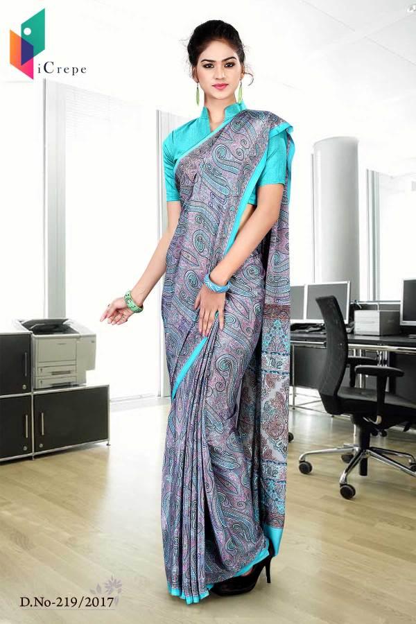 purple-and-blue-italian-crepe-uniform-saree-219