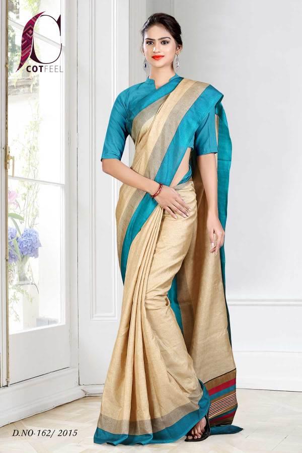 sky-blue-and-beige-tripura-cotton-uniform-saree-162-15