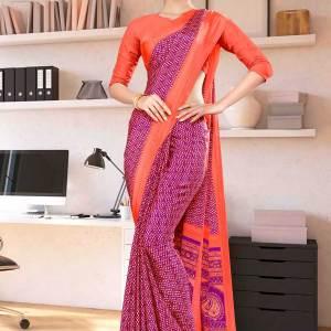 wine-pink-premium-italian-silk-crepe-saree-for-hotel-uniform-sarees-1006-21