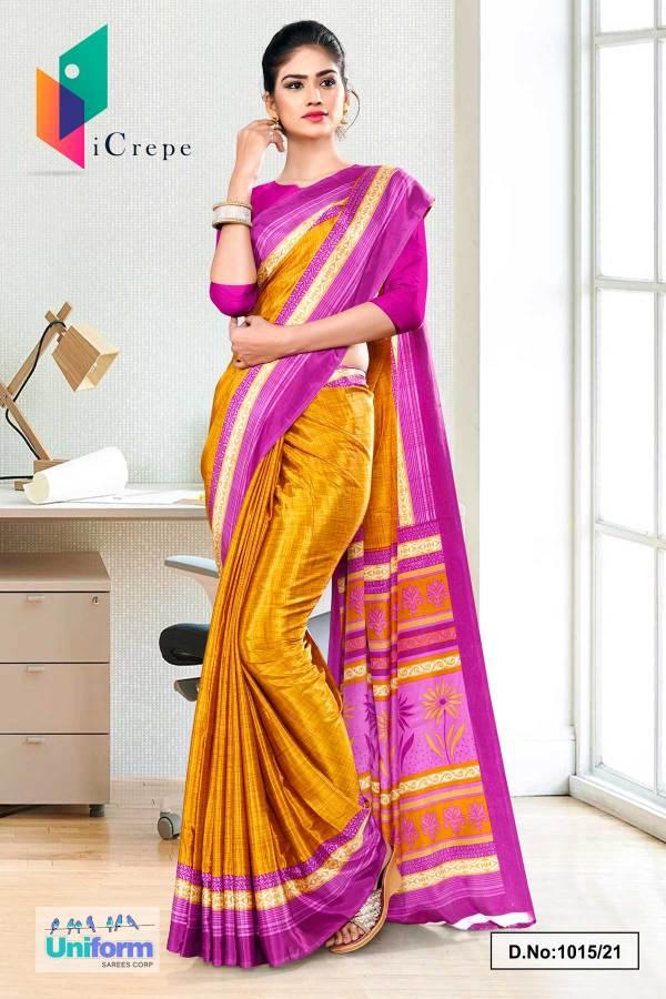yellow-lavender-premium-italian-silk-crepe-saree-for-workeruniform-sarees-1015-21