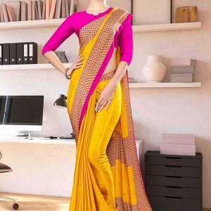 yellow-rani-premium-italian-silk-crepe-uniform-sareefor-annual-function-1060-21