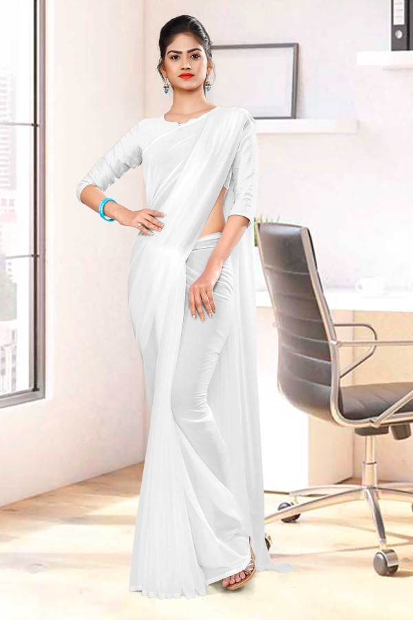White-Plain-Mourning-Uniform-Sarees-1093