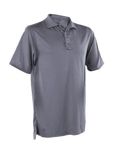 TRU-SPEC Men's Short Sleeve Performance Polo - STEEL GREY - 4552F