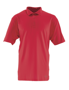TRU-SPEC Men's Short Sleeve Performance Polo - RANGE RED - 4493F