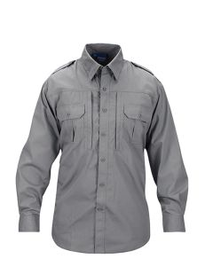 PROPPER Tactical Shirt - men-long sleeve - F531250020-grey
