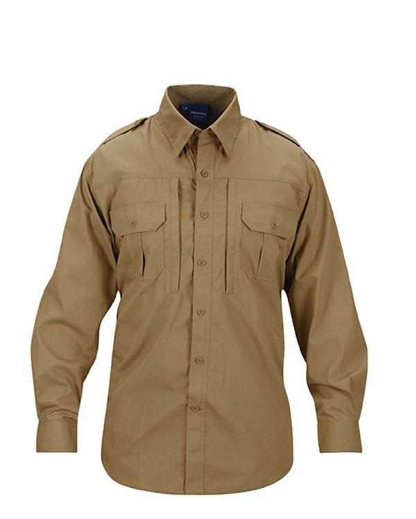 PROPPER Tactical Shirt - men-long sleeve - F531250236-coyote