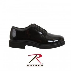 ROTHCO Hi-Gloss Oxford Dress Shoe 5055-B