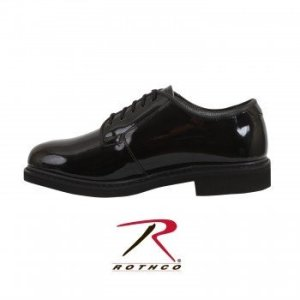 ROTHCO Hi-Gloss Oxford Dress Shoe 5055-C
