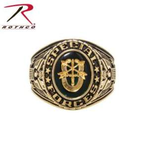 Rothco Deluxe Brass Engraved Ring - 825-A1 - Special Forces