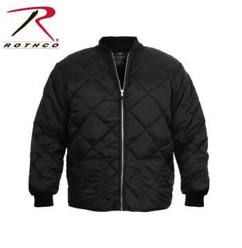 rothco-diamond-nylon-quilted-flight-jacket