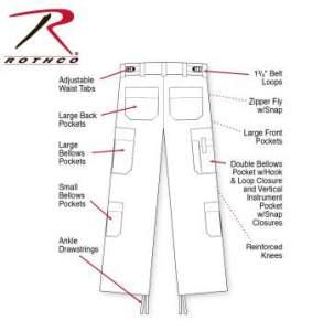 Rothco EMT Pants - 7823-Z