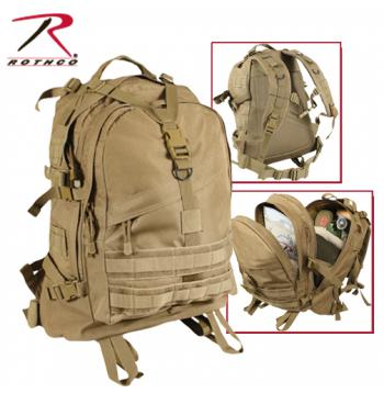 Rothco Large Transport Pack - Black-Olive Drab - 7289_big