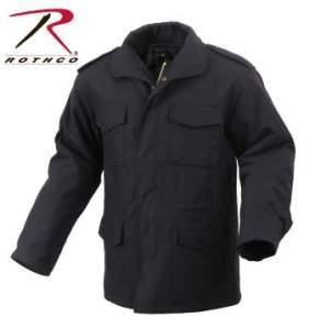 Rothco M-65 Field Jacket - 8444-A - Black
