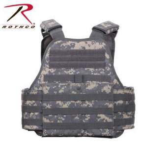 Rothco MOLLE Plate Carrier Vest - 8932-A - Digital Camo