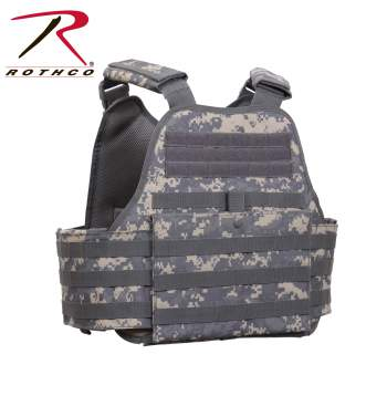 Rothco MOLLE Plate Carrier Vest - 8932-C - Digital Camo