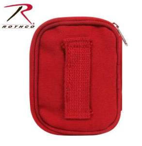 Rothco Military Zipper First Aid Kit - 8318-B1 - Red